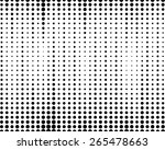 halftone dotted and circle art... | Shutterstock .eps vector #265478663
