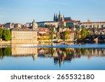 View Of Mala Strana And Prague...