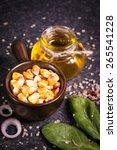 corn oil | Shutterstock . vector #265541228
