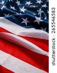 background of american flag | Shutterstock . vector #265546583