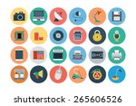 flat electronics vector icons   ...