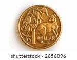 A Bronze Australian One Dollar...