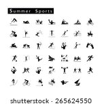 illustration collection of 41... | Shutterstock .eps vector #265624550