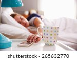 Sleeping Couple Being Woken By...