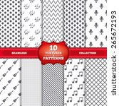 repeatable patterns and... | Shutterstock .eps vector #265672193