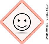 Face Sign Icon  Vector...