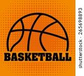 basketball championship design  ... | Shutterstock .eps vector #265698893