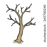 Dead Tree   Cartoon Vector And...