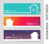 abstract creative concept... | Shutterstock .eps vector #265718324