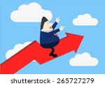 stable and fast growing... | Shutterstock .eps vector #265727279