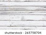 white gray peeling paint wooden ...   Shutterstock . vector #265758704