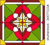 Arabic Flowers  Symmetric...
