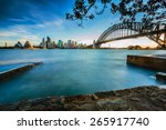 Opera House And Harbor Bridge...