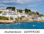 views across the river to fowey ... | Shutterstock . vector #265959230