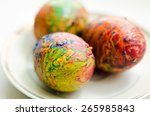 Colored Waxes Decorate Eggs