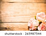 Bright Pink Roses Flowers On A...