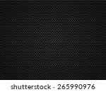 black metal   carbon grid... | Shutterstock . vector #265990976