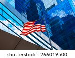 American Flag In Boston...