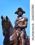 Boston Common George Washingto...