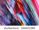 colorful lines background | Shutterstock . vector #266031380