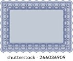 blue isolated illustration of... | Shutterstock .eps vector #266036909