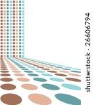 retro dot background | Shutterstock .eps vector #26606794