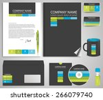 abstract gray business style ... | Shutterstock .eps vector #266079740
