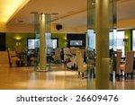 interior of a modern restaurant | Shutterstock . vector #26609476