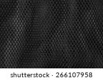 black nylon net for background | Shutterstock . vector #266107958