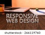 responsive web design   letters ...