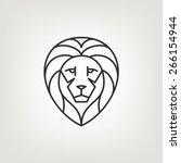 Lion Head Logo Icon Design In...
