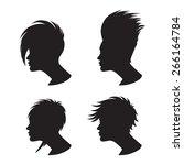 vector illustration of a... | Shutterstock .eps vector #266164784