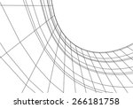 abstract architecture. city... | Shutterstock .eps vector #266181758