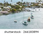 aerial view of hopetown in the... | Shutterstock . vector #266183894