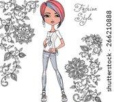 Cute Beautiful Fashionable...