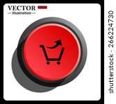 black icon on the red button...