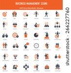 businessman  human resource... | Shutterstock .eps vector #266227760