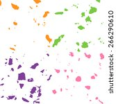 colorful grunge background.... | Shutterstock .eps vector #266290610