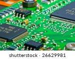 chip on plate | Shutterstock . vector #26629981
