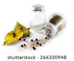 salt  pepper  bay leaf