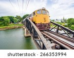 The Train On The Bridge Of The...