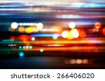 blurred defocused lights of... | Shutterstock . vector #266406020