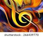 inner melody series. design... | Shutterstock . vector #266439770