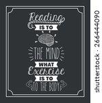attitude phrase design over... | Shutterstock .eps vector #266444090
