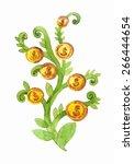 money tree  | Shutterstock .eps vector #266444654