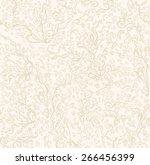 hand drawn seamless pattern.... | Shutterstock .eps vector #266456399