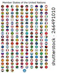 list of countries in the united ... | Shutterstock . vector #266491010