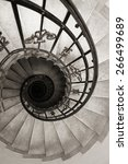 spiral staircase | Shutterstock . vector #266499689