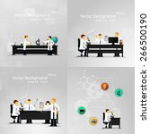 vector illustrations of... | Shutterstock .eps vector #266500190
