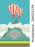 vector illustration of a... | Shutterstock .eps vector #266521154